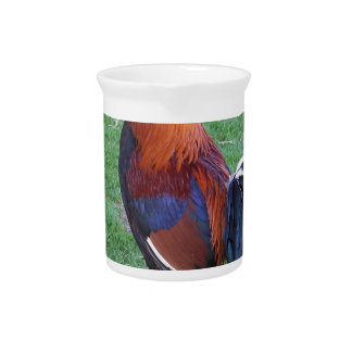 Rooster Beverage Pitcher