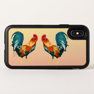Rooster Bird OtterBox iPhone X Case
