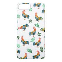 Rooster birds pattern iPhone 8 plus/7 plus case