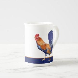 Rooster Bone China Mug