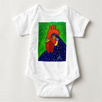 ROOSTER by Piliero Baby Bodysuit