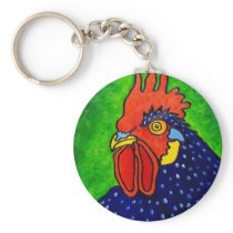 ROOSTER by Piliero Keychain