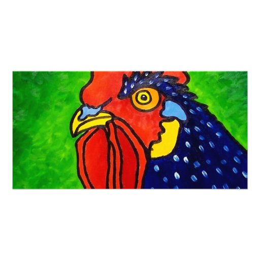 ROOSTER by Piliero Photo Card