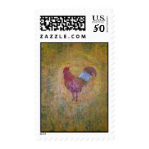 Rooster Chicken Postage