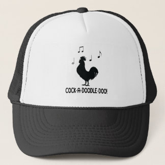 Rooster Cock-A-Doodle-Do Trucker Hat