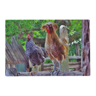 Rooster / Country Barn Reversible Placemat