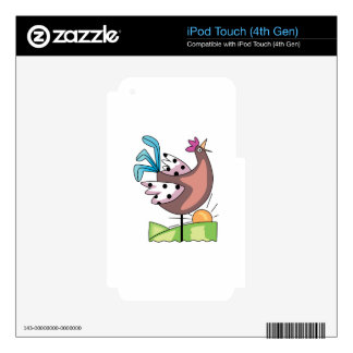 ROOSTER CROWING iPod TOUCH 4G DECAL
