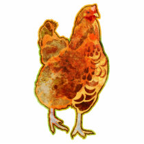 Rooster Cutout