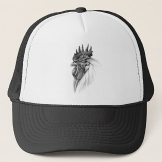 Rooster design by Schukina sk065 Trucker Hat