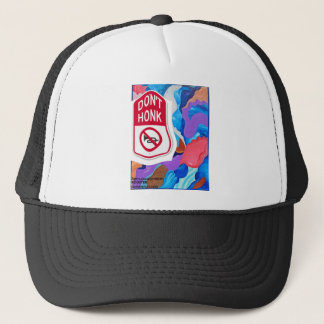 Rooster Don't Honk Trucker Hat