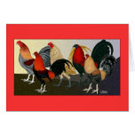 Rooster Dream Team Stationery Note Card