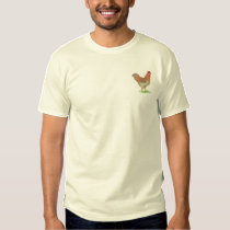 Rooster Embroidered T-Shirt