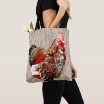 Rooster Extrovert, Tote Bag