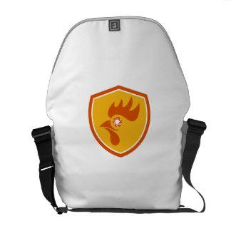 Rooster Eye Shutter Crest Retro Messenger Bag