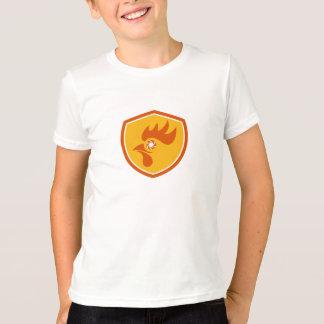 Rooster Eye Shutter Crest Retro T-Shirt