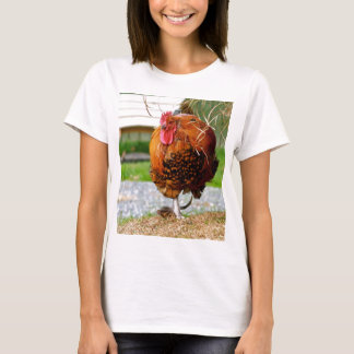 Rooster Farm Animals Nature Photography T-Shirt