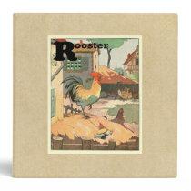 Rooster Farm Yard Binder