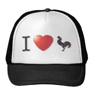Rooster Farmer wear Trucker Hat