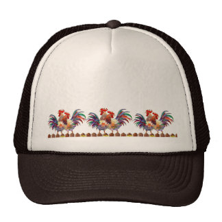 ROOSTER FENCE By SHARON SHARPE Hats