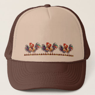 ROOSTER FENCE By SHARON SHARPE Trucker Hat