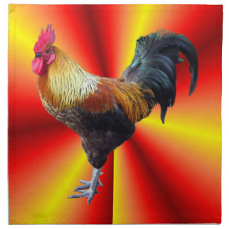 Rooster flash  American MoJo Napkin