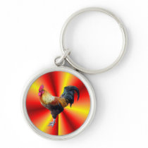 Rooster flash keychain