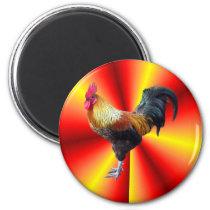 Rooster flash magnet