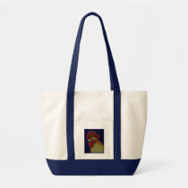 Rooster:  Freestyle Head Tote Bag