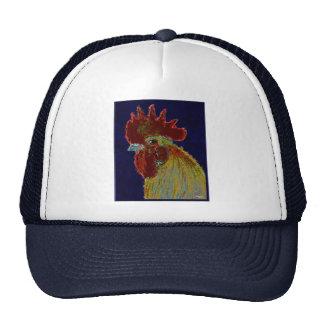 Rooster:  Freestyle Head Trucker Hat