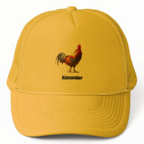 Rooster Fun Trucker Hat