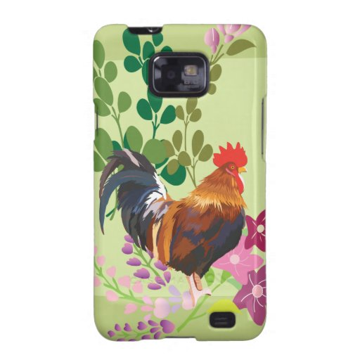 rooster galaxy s2 cases