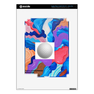 Rooster Golf Ball Skins For iPad 3