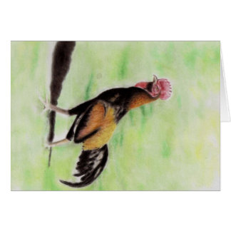 Rooster Greeting Cards