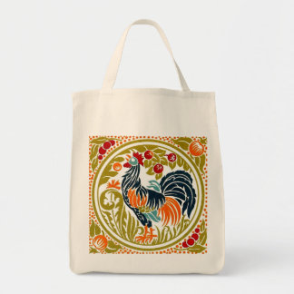 Rooster Grocery Tote Grocery Tote Bag