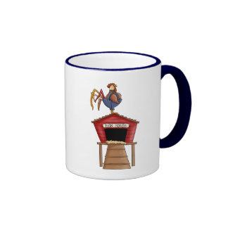 Rooster Hen House Coffee Mug