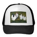 """Rooster & Hens"" Art Hat"