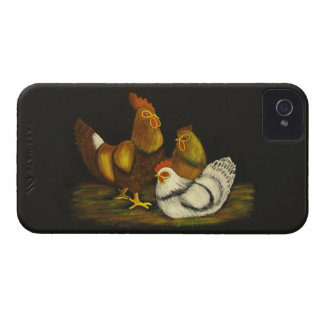 Rooster / Hens ~ BlackBerry Bold CaseMate Barely iPhone 4 Case-Mate Case