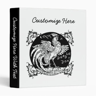 Rooster Home Decor, Apparel, and Gifts Binder