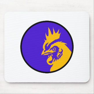 Rooster Image Fashion Mouse Pad