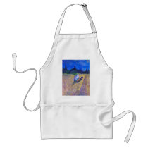 Rooster In The Field Adult Apron