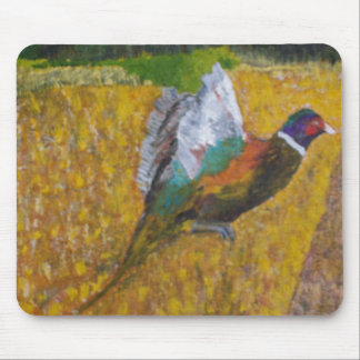 Rooster In The Field Mouse Pad