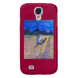 Rooster In The Flight Samsung Galaxy S4 Cover