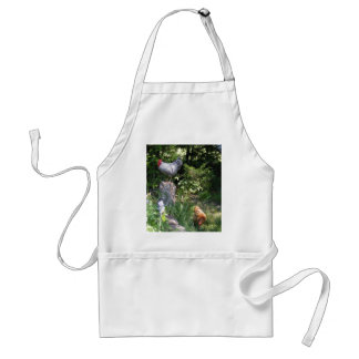 Rooster in the Gardens Adult Apron