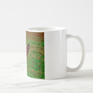 Rooster in the Grass Coffee Mug