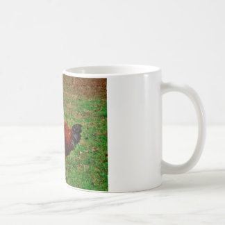 Rooster in the Yard Coffee Mug