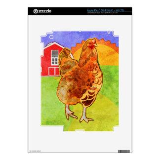 Rooster iPad 3 Decals