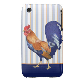 Rooster iPhone 3/3GS Barely There Case iPhone 3 Case-Mate Cases