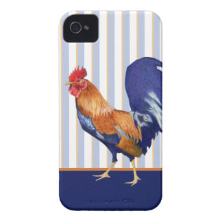 Rooster iPhone 4/4S Barely There ID/Card Case iPhone 4 Case-Mate Case