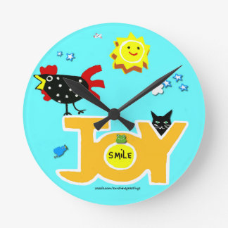 Rooster Joy Clock to make you happy