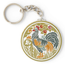Rooster Key Chain